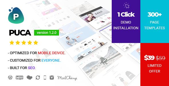 Image of Puca - Optimized Mobile WooCommerce Theme