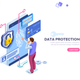 Confidential Data Protection Concept - GraphicRiver Item for Sale