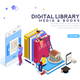 Encyclopedia Media and Book Library - GraphicRiver Item for Sale