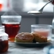 Cheesecake and Tea on Table - VideoHive Item for Sale