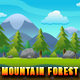 Mountain Forest - Game Background - Side Scrolling