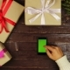 Top View Hands Using Mobile Phone Touchscreen Multi Touch Gestures Green Screen on Christmas - VideoHive Item for Sale