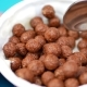 Jar of Yogurt with Spoon and Chocolate Balls - VideoHive Item for Sale