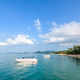 Sea at Na Phralan beach in Samui island - PhotoDune Item for Sale