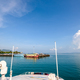 Boat arrive at the pier of Ko Pha Ngan - PhotoDune Item for Sale