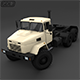 Army KRAZ-63221 3D Model - 3DOcean Item for Sale