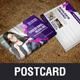 Multipurpose Postcard Design v2 - GraphicRiver Item for Sale