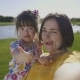 Mother Making Selfie with Special Daughter in Park - VideoHive Item for Sale