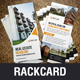 Rack Card DL Flyer Design v1 - GraphicRiver Item for Sale
