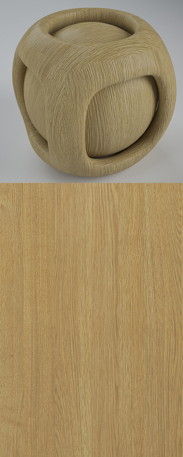 Real Plywood Vray Material Royal Oak - 3DOcean Item for Sale