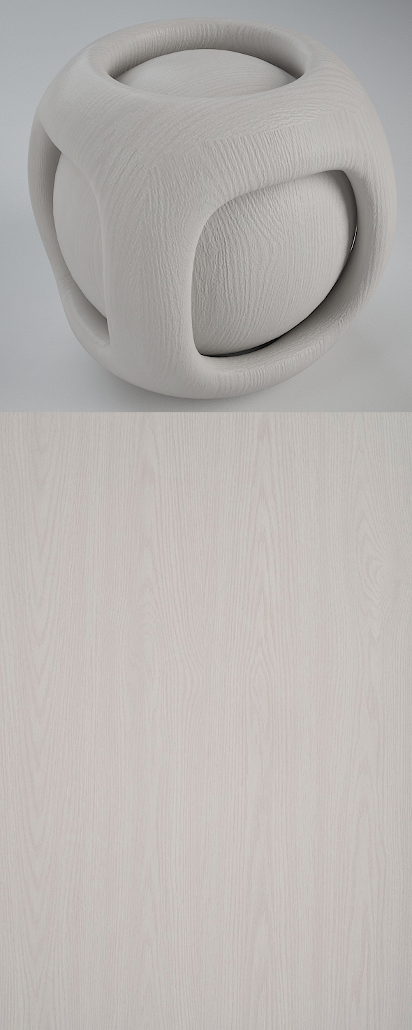Real Plywood Vray Material Innocent Oak - 3DOcean Item for Sale