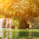 Panorama Chet Sao Noi waterfall in national park_ - PhotoDune Item for Sale