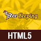 BeeKeeping - Bootstarp-4 multipurpose beekeeping HTML5 template - ThemeForest Item for Sale