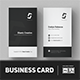 Minimalist Business Card Vol. 08 - GraphicRiver Item for Sale
