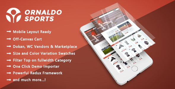 Ornaldo - Sports, Gym & Fitness Responsive WooCommerce WordPress Theme