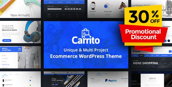 Image of Carrito - WooCommerce WordPress Theme