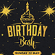 Birthday Bash Flyer,Birthday Bash Flyer - GraphicRiver Item for Sale