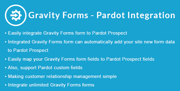 Gravity Forms - Pardot Integration            Nulled
