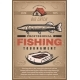 Vector Poster for Professional Fishing Tournament
