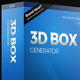 3D Box Generator Action set & Templates - GraphicRiver Item for Sale