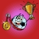 Winner Champion Cup First Place Gold Medal - GraphicRiver Item for Sale