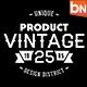 Vintage Badges Vol.1 - GraphicRiver Item for Sale