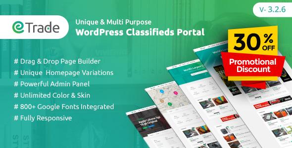 Image of Trade - Modern Classified Ads WordPress Theme