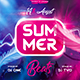 Summer Escape Party Flyer vol.10 - GraphicRiver Item for Sale