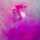 Colorful Drop Falling on a Beautiful Rose. - VideoHive Item for Sale
