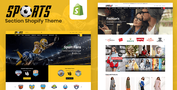 Image of Sports - Multipurpose Responsive Drag & Drop Shopify Theme (Sections Ready)
