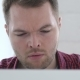 Man Coughing at Work - VideoHive Item for Sale