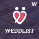 Weddlist - Wedding Vendor Directory WordPress Theme - ThemeForest Item for Sale
