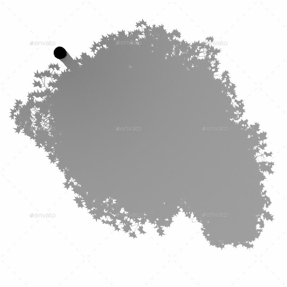 3D Shadow - Tree 45