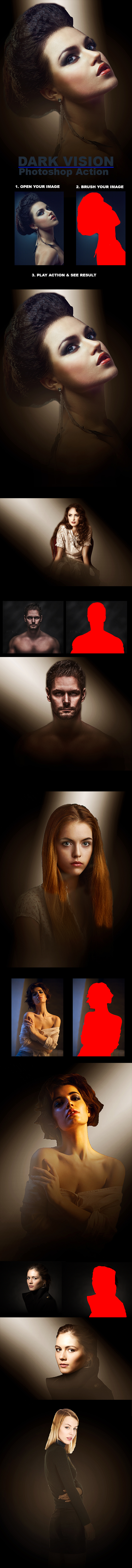 Dark Vision :: Photoshop Action - Photo Effects Actions