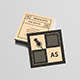 Square Personal Business Card - GraphicRiver Item for Sale