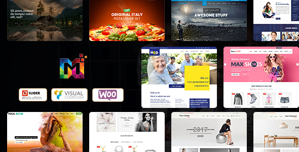 Maximum - Multi-Purpose Responsive WordPress Themes - WordPress