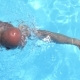 Strong Crawl Swimmer in  Swimming in Pool - VideoHive Item for Sale