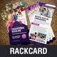 Rack Card DL Flyer Design v2 - GraphicRiver Item for Sale