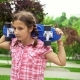 Young Girl with a Skate on Her Shoulders - VideoHive Item for Sale