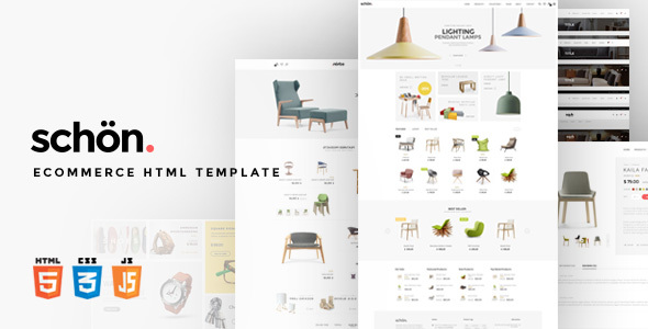 schön. | eCommerce HTML Template - Retail Site Templates