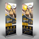 Construction Roll-Up Banner