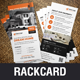 Real Estate Rackcard DL Flyer Design v1