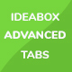 Ideabox Advanced Tabs - CodeCanyon Item for Sale