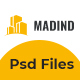 MADIND - Construction Business PSD Template - ThemeForest Item for Sale