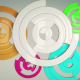 Circles Abstract Background - VideoHive Item for Sale