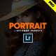 Cinematic Moody Portrait Lightroom Presets