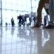 People Walk Inside a Bright, Modern Building - VideoHive Item for Sale