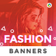 Fashion Banner Set - GraphicRiver Item for Sale