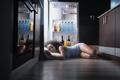 Black Woman Awake For Heat Wave Sleeping in Fridge - PhotoDune Item for Sale