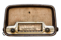Isolated Vintage Radio Set - PhotoDune Item for Sale
